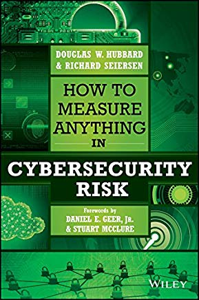 Cover of How to Measure Anything in Cybersecurity Risk